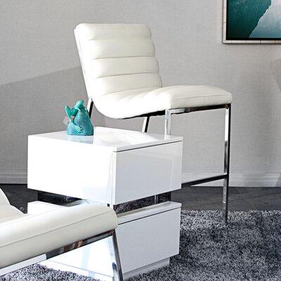 Olney 25 Bar Stool Upholstery: White