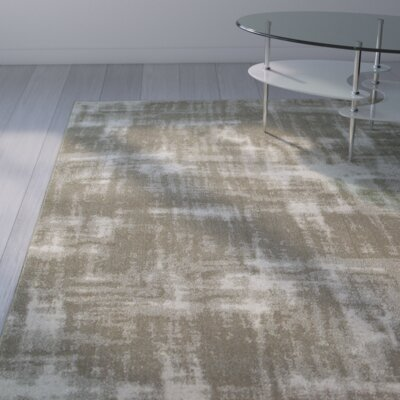 Leonidas Gray/Ivory Area Rug Size: Runner 23 x 76