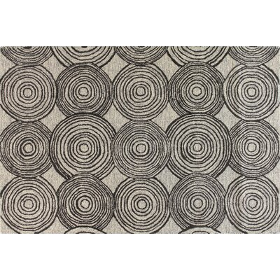 Orian Hand-Tufted Grey Area Rug Rug Size: 5 x 76
