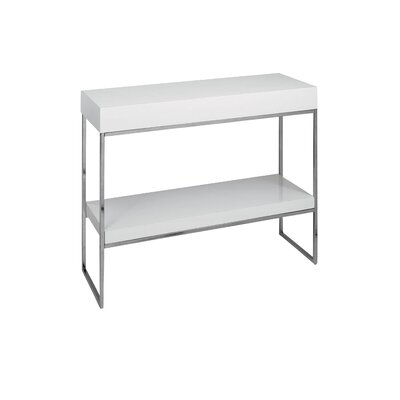 Mcnair Console Table Finish: White