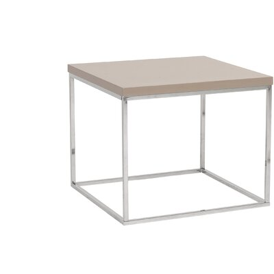 Mccoy End Table Color: Taupe Lacquer