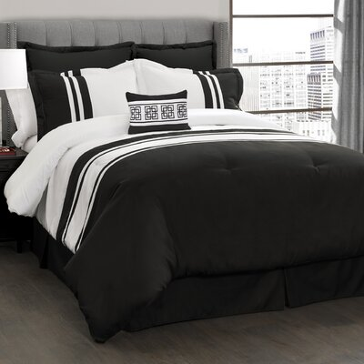 Edgemont 6 Piece Comforter Set Size: King