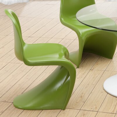 English Side Chair Finish: Green