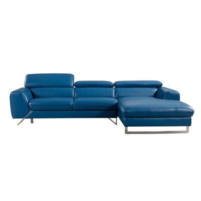 Conduit Avenue Leather Sectional