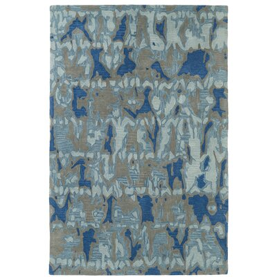 Elmore Hand Tufted Blue/Gray Area Rug Rug Size: 3 x 5