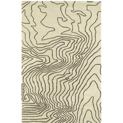 Ahner Hand Tufted Beige Area Rug Rug Size: Rectangle 8 x 10