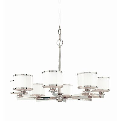 Belhaven 8-Light Drum Chandelier Finish: Polished Nickel