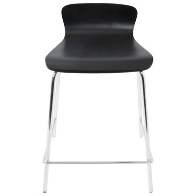 Haven 24 Bar Stool Finish: Black