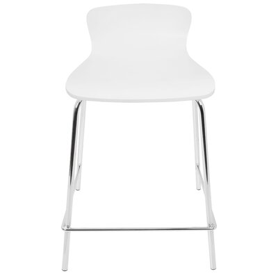 Eurydice 24 Bar Stool Finish: White