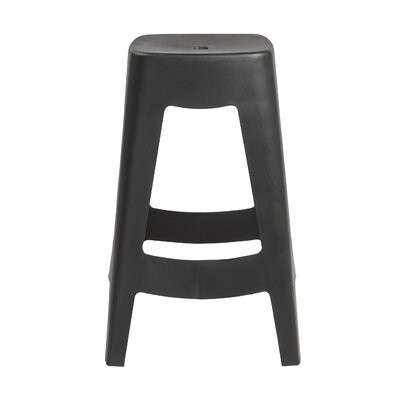 Aubrianna 27 Bar Stool Finish: Black