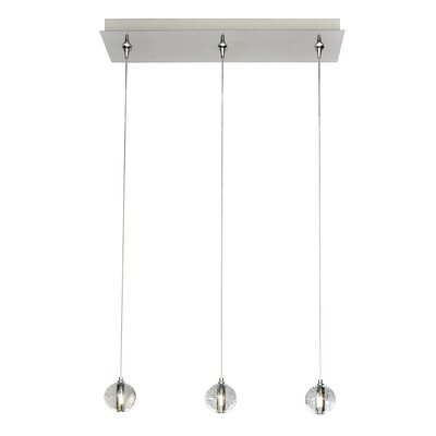 Capricorn 3-Light RapidJack Pendant and Canopy