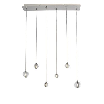 Capricorn 6-Light LED Pendant