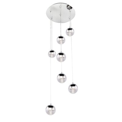 Talitha 7-Light Pendant and Canopy