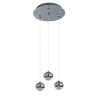 Talitha 3-Light Pendant and Canopy