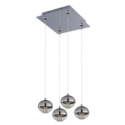 Talitha 4-Light Cascade Pendant