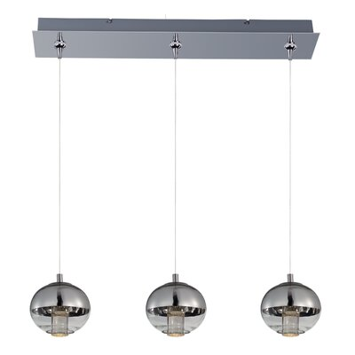Talitha 3-Light Kitchen Island Pendant