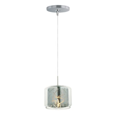Hephaestus 1-Light Pendant and Canopy Shade Color: Mirror