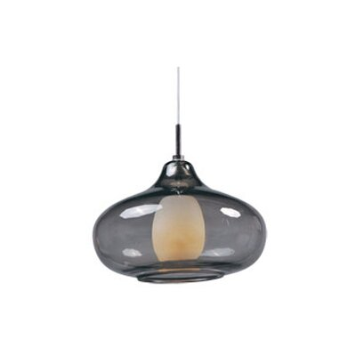 Montpelier 1-Light Mini Pendant Shade Color: Smoke