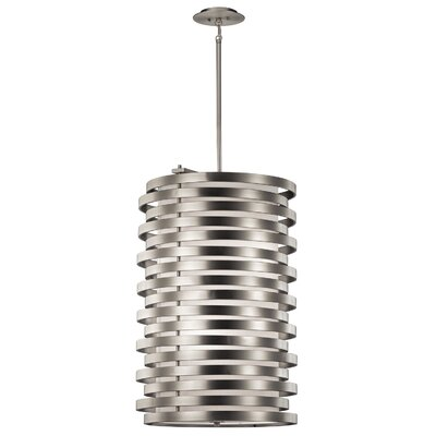 Rushmere 6-Light Foyer Chandelier Finish: Brushed Nickel