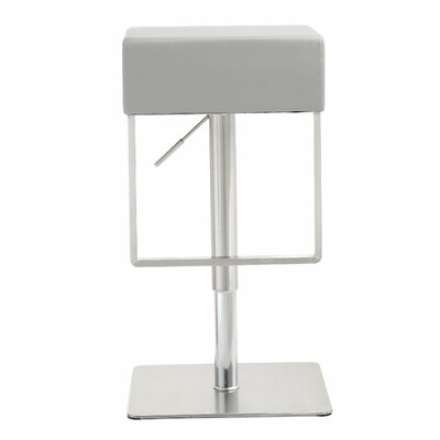 Sophocles Adjustable Height Swivel Bar Stool