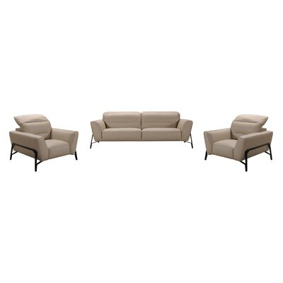 Coalpit Heath 2 Piece Leather Living Room Set