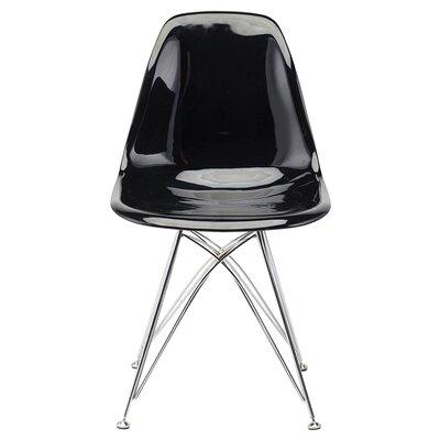 Buhr 17.75 Side Chair Upholstery: Black Chromed
