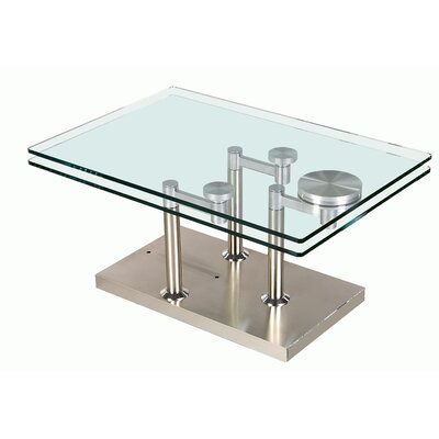 Daivelis Glass Coffee Table