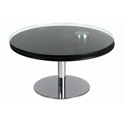 Daivelis Contemporary Round Coffee Table
