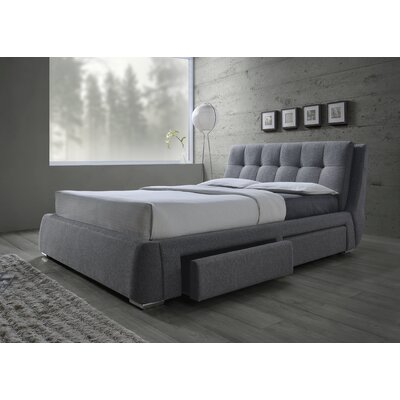 Karyen Upholstered Storage Platform Bed
