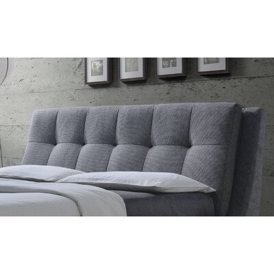 Shellharbour Upholstered Panel Headboard Size: Queen