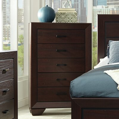 Nova 5 Drawer Standard Chest