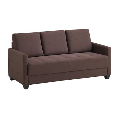 Edinburg Sofa Upholstery: Brown