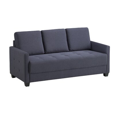 Edinburg Sofa Upholstery: Charcoal