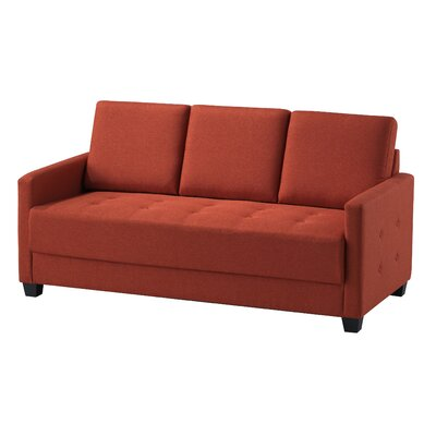 Edinburg Sofa Upholstery: Orange