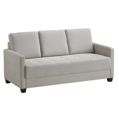 Edinburg Sofa Upholstery: Ivory