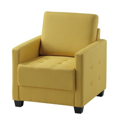 Edinburg Armchair Upholstery: Yellow