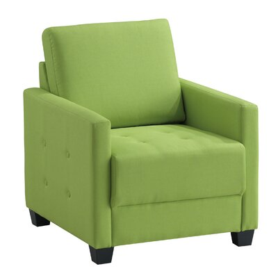 Edinburg Armchair Upholstery: Lime Green