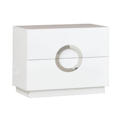 Austin 2 Drawer Nightstand Size: 20