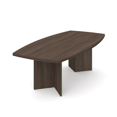 Mariana 8 Boat Shaped Conference Table Finish: Antigua