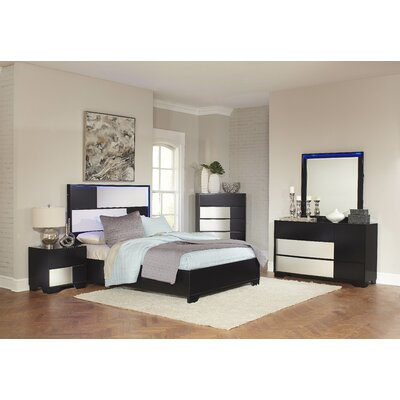 Dawna Panel Customizable Bedroom Set