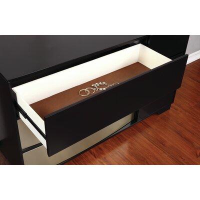 Dawna Dresser Color: Black