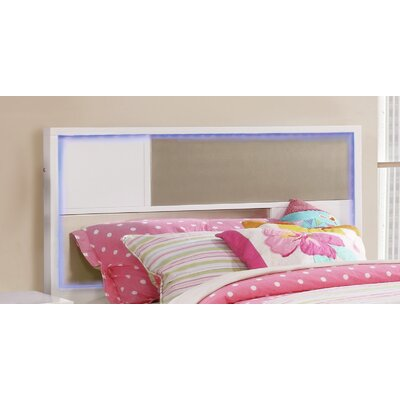 Savannah Slat Headboard Size: Twin, Finish: White