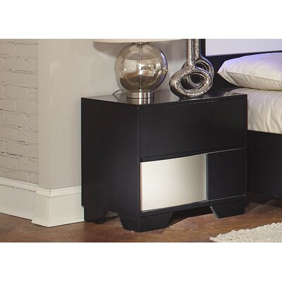 Savannah Nightstand Finish: Black
