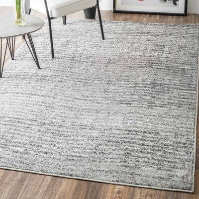 Bismark Gray Area Rug Rug Size: Rectangle 3 x 5