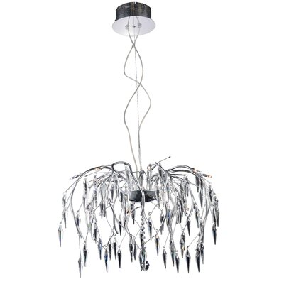 America 16-Light Crystal Chandelier