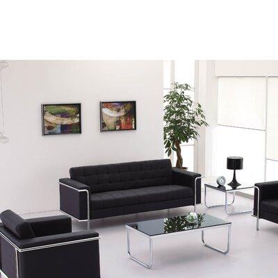 Myron Leather Configurable Living Room Set