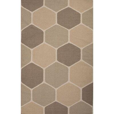 Montville Cream Geometric Area Rug Rug Size: 8 x 11