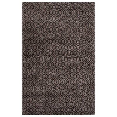 Omarion Hand-Tufted Gray Area Rug Rug Size: 5 x 8