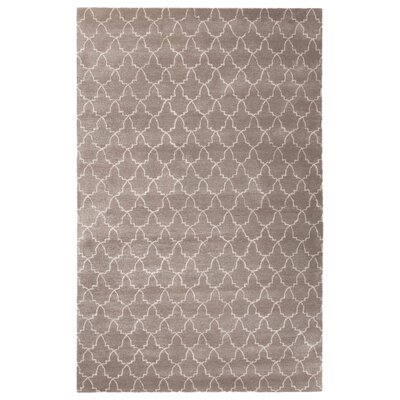 Bruce Hand-Tufted Rectangle Ivory/White Area Rug Rug Size: 8 x 11