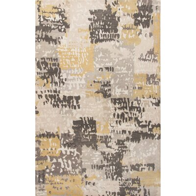 Nick Hand-Tufted Beige/Multi Area Rug Rug Size: 5 x 8